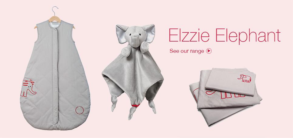 Elzzie Elephant - Range of Comforters
