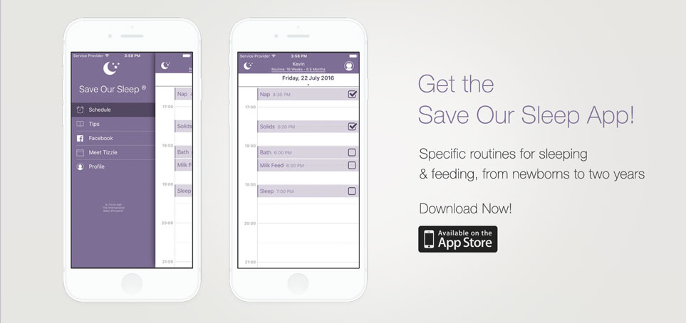 Get the Save Our Sleep App
